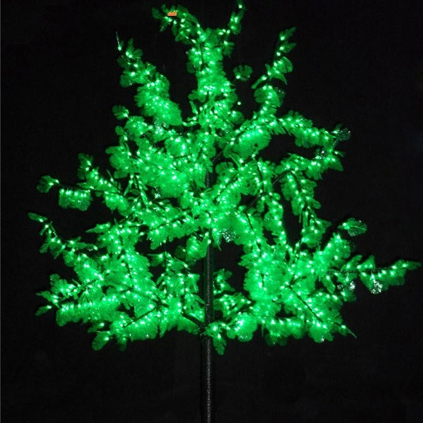 decorative waterproof Orange LED Tree Lighting 2m,LED lighting tree christmas cherry blossom yard art