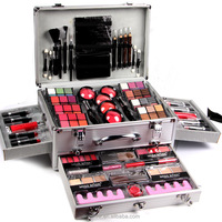 Promotional fresh color cosmetic makeup box set Miss Rose