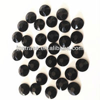 4MM hotfix crystals in jet black colors 2013 china wholesale supplier