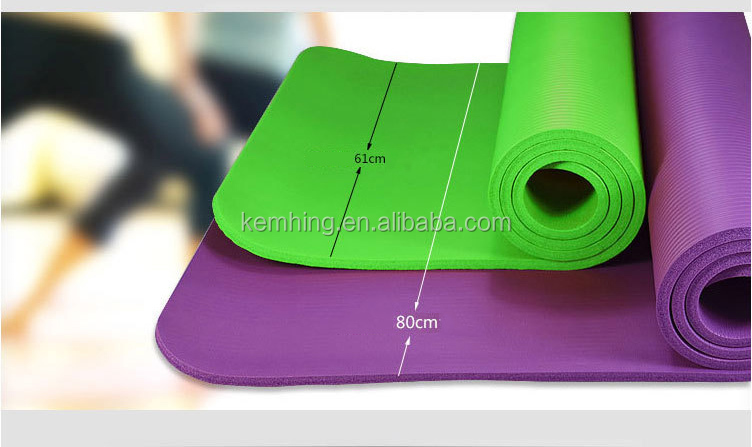 Extra Thick wide NBR Foam kids Exercise mats Yoga gym mat
