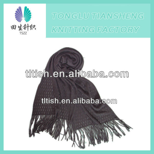 Fashion new style lastest designer zhejiang tonglu women knit scarf winter muffler ladies scarf