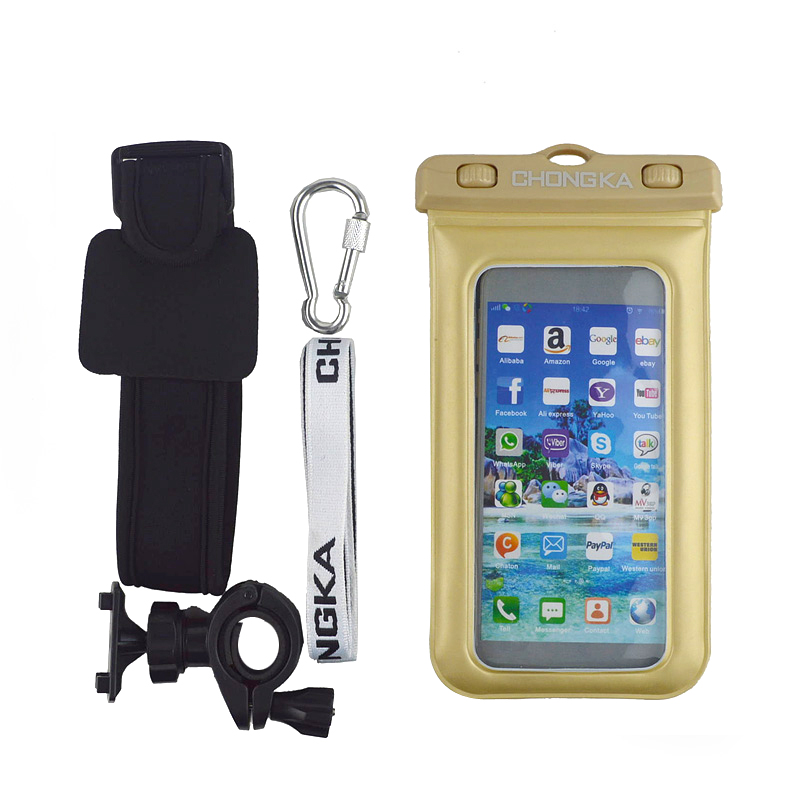 mobile phone necklace cellphone waterproof armband