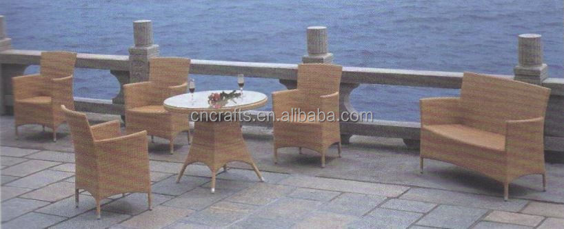 Brown Wicker Bistro Set (LD-HC0033)