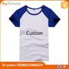 China contract manufacturing cheap custom plain t-shirts