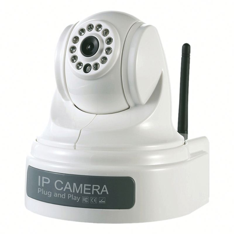 wifi Megapixel baby monitor with wifi audio function wifi ip Kamera with free uid