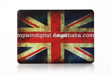 Rubberized England Flag Pattern Hard Case For Macbook Pro