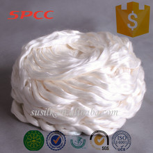 China supplier a1 grade pure silk sliver for spinning wholesale