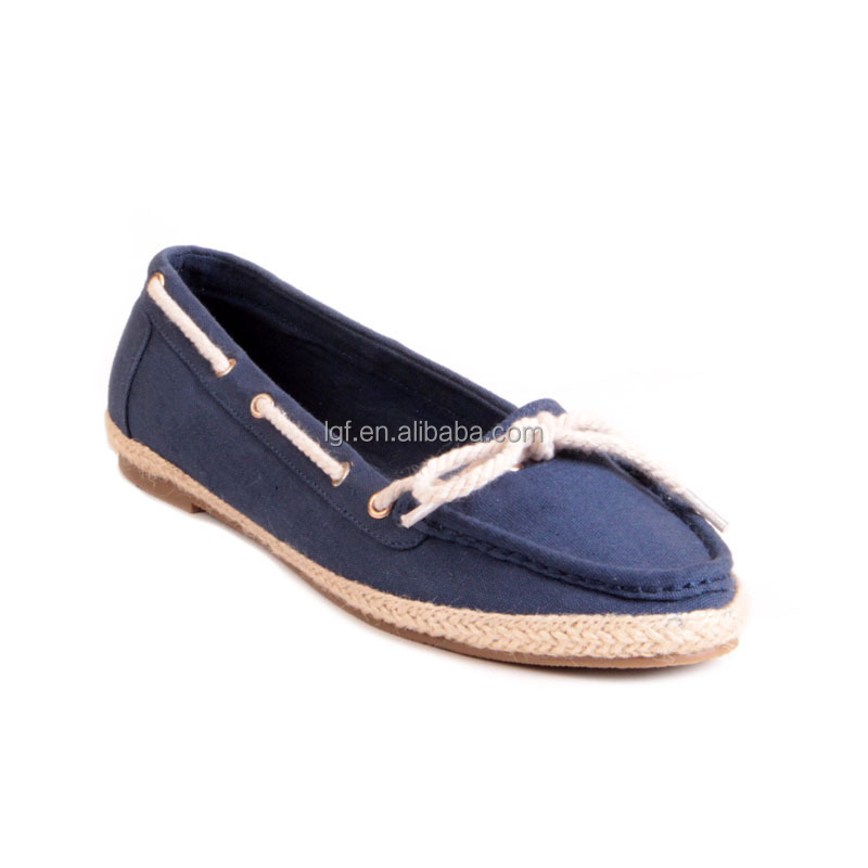 Women Fashion Slip-on cloth shoes Female Jute Casual Shoe Women Wave Pattern Flast Street Snap Soft Loafer Shoes