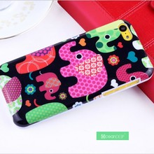 Elephant case with water transfer printing for iphone 5c 32gb