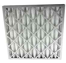 Cardboard Frame Pleated Industrial air filter