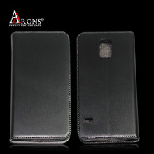 Genuine leather phone case for Galaxy s5 leather wallet case