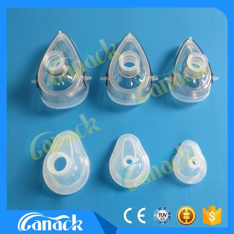 Medical Consumables mg facial mask Silicone Anesthesia Mask