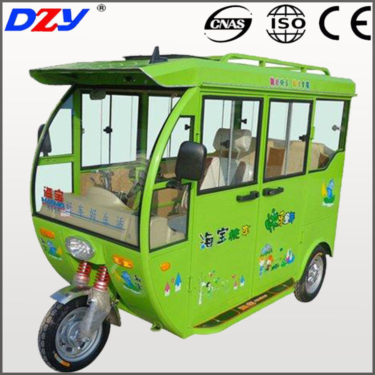 popular three wheeler pedicab taxi battery operated tuk tuk