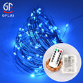 Hot Sale Battery Operated Waterproof 8 Modes Led String Lights Copper Wire Lights Remote Control for DIY Wedding