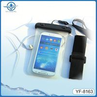 High quality armband waterproof case for samsung galaxy mega 6.3 i9200