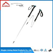 Easy pack & carry adjustable walking stick, cane, titanium cane