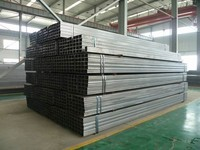 wholesale 50x50 ms square tube sizes cross- section Pipe made in China