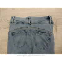 Hot sell no name denim jeans sell With Bottom Price