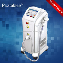 big spot size diode laser system for hair removal completely and permanently applicable to any hair color