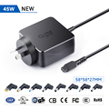 45W universal ac laptop adapter notebook charger AU plug with 11 tips 5V USB