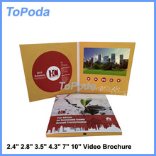 Hot sale chinese lcd video business card