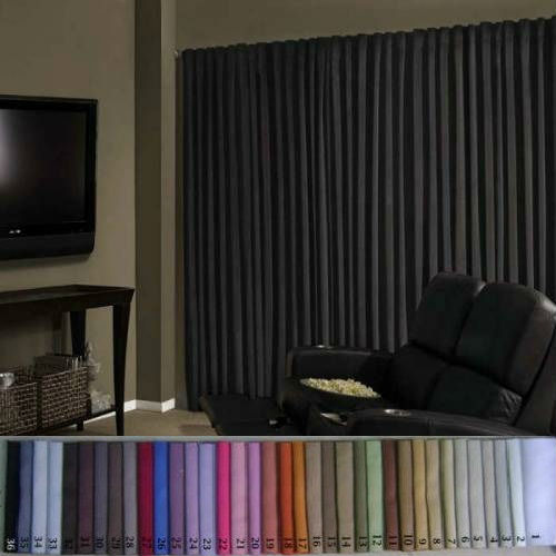 BLACKOUT CURTAIN AND DRAPERY CURTAIN