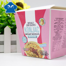 Healthy gluten free konjac instant noodles with low carb