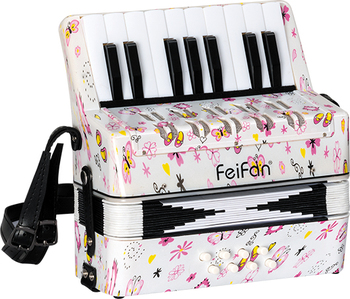 Children 17 key 8 bass Feifan brand keyboard accordion for sale