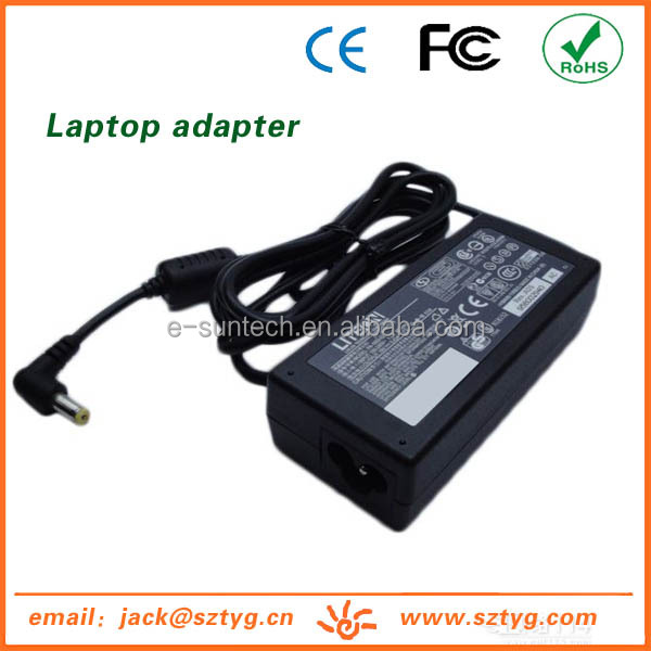 Newest Design Laptop Adapter/ac dc power supply For Acer 19V 3.16A 60W With Tip 5.5*1.7 mm