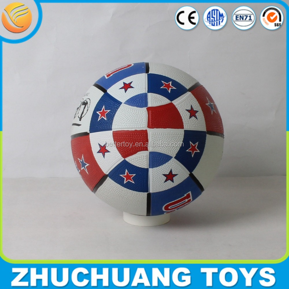 promotion us flag printed molten basketball