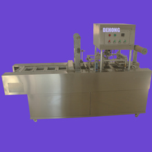 plastic cup sealing lid machine