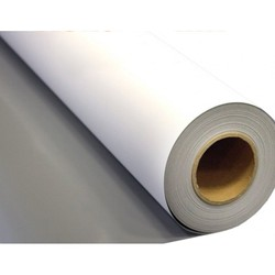 230gsm-610gsm hot or cold laminated PVC flex banner / white glossy banner rolls