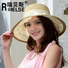 Fashion Sun Lady Summer Women Sun Leisure Hats And UV Protection Beach Hat