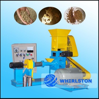1694 Hot sale Automatic floating fish feed make machine