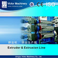 Victor 550kg/hr sheet extruder with 0.12mm to 5 mm in thickness