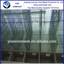 China factory brown standing parrot stainless steel mink cage mink pet cage