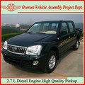 China-made Jinbei High Power Diesel Pickup Trucks/Double Cabin Pickup Truck With 4JB1 engine