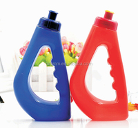 Outdoor PE plastic handling Sport water bottle