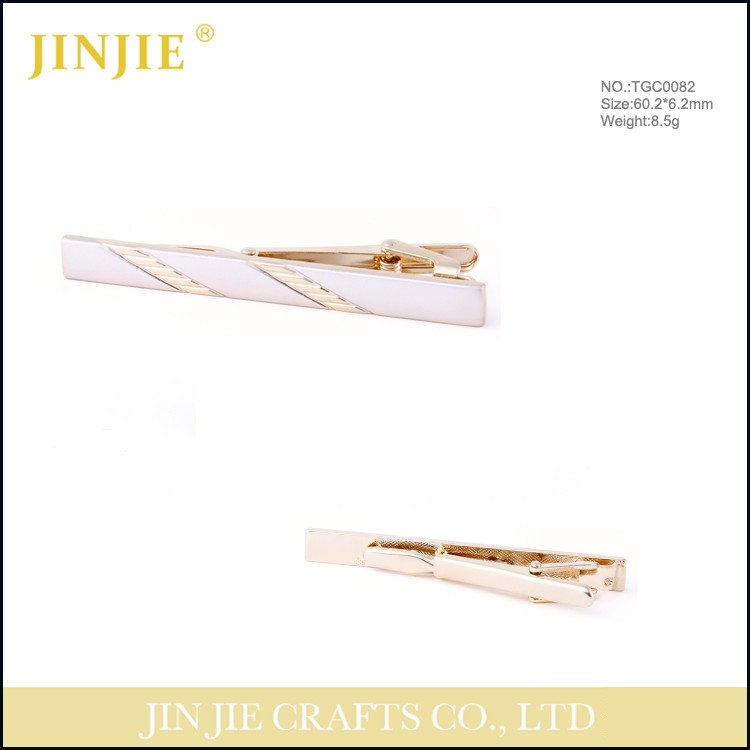 high quality tie bar gold tie clip clip on tie