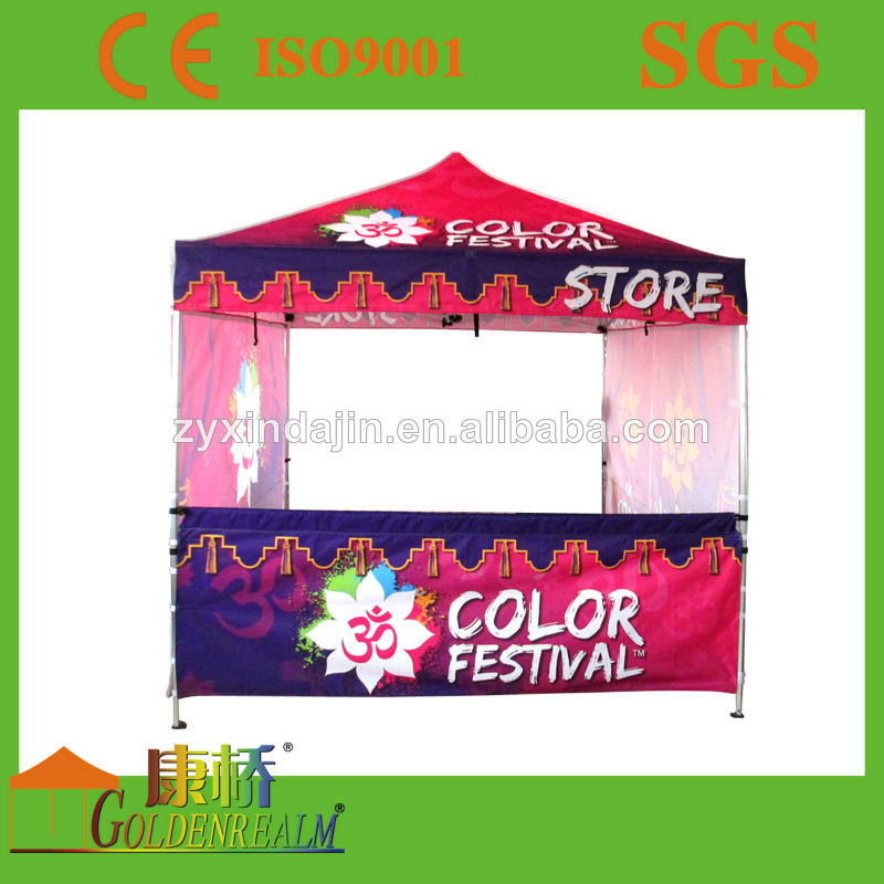 Eezee Pop-up shade 3X3M waterproof canvas rooftop gazebo tent for sale custom-made tent