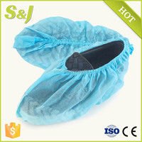 Disposable Waterproof Nonwoven Medical Shoe Covers for Work Place