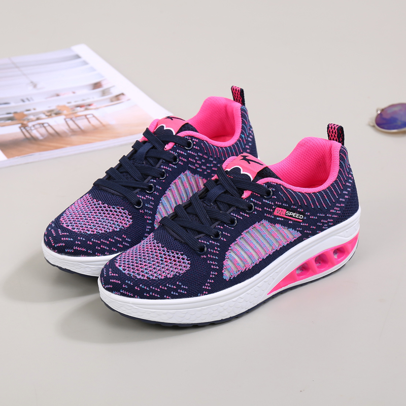 2017 comfortable casual shoes women lady
