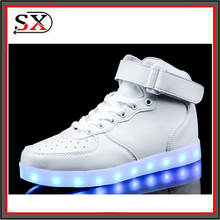 2016 new design top level dancer led chargeable shoes, led shoe light
