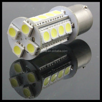 24 SMD 24SMD 1157 BAY15D 1156 BA15S WHITE 5050 LED AUTO TURN SIGNAL LIGHT BULB LAMP