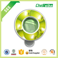 Hot sell eco-friendly apple scent car perfume membrane air freshener for promotion