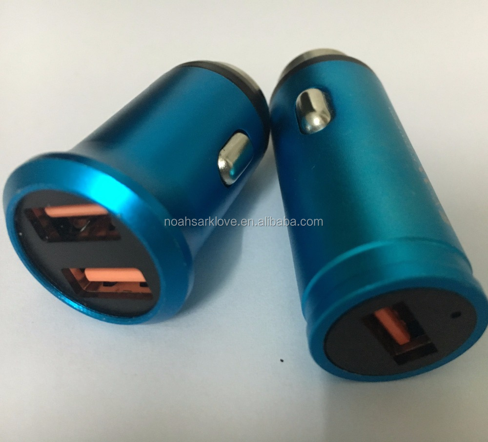 Car Charger Two USB Fast Charging Stability 5V 2.4A