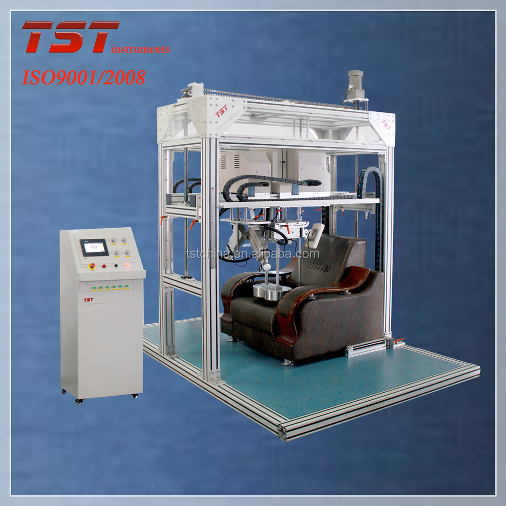 computer servo control sofa back and armrest durability fatigue tester