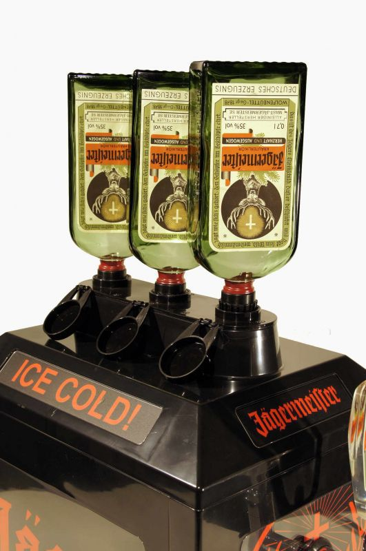 3 bottle liquor dispenser machine with one tap