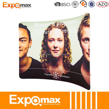 Expomax hot sale trade show exhibition stretch tension fabric display