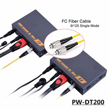 PW-DT200 20km 1080p video audio hdmi to fiber optic converter with IR extender